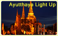 Ayutthaya Light Up