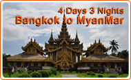 4 Days 3 Nights Bangkok to Myanmar